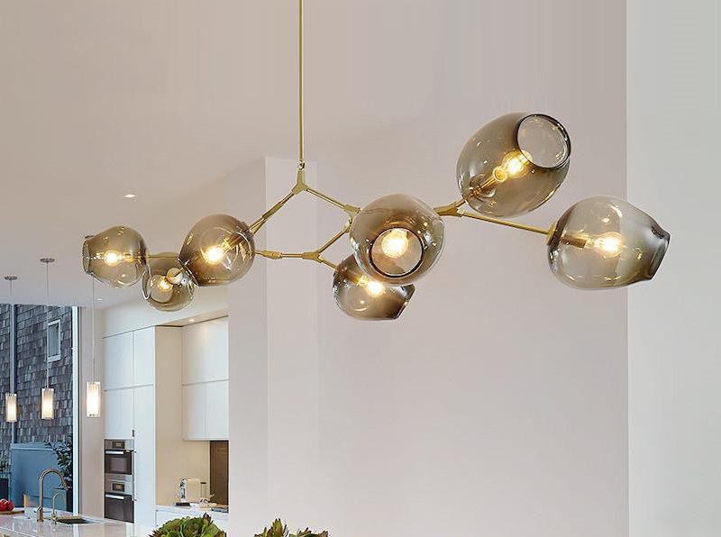 Реплика на светильник Branching Bubble от Lindsey Adelman, очень популярная        в России и Беларуси.